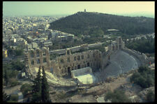 555012 Odeion Of Herodes Atticus Athens Greece A4 Photo Print