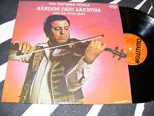 Autographed HUNGARIAN Gypsy LP SANDOR DEKI LAKATOS Virtuoso Primas QUALITON 1979