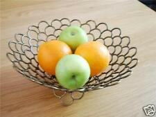 Wrought Iron French Style Fruit Toast Basket Bowl 002