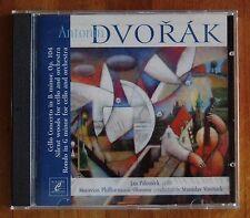CD Dvorak concerto violoncelle Silent woods... Jan Palenicek constater Vavrinek Cube 2004