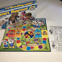 MICKEY'S PLAYGROUND Walt Disney Learning Game Vintage Board Game Complete 1988