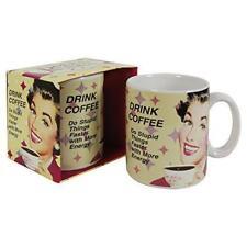 Retro 50s mug - drink coffee