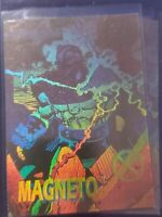 Lot of 3 1991 Marvel X-Men Series I Hologram Magneto  Advance Comics Promo
