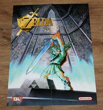 1998 Nintendo The Legend of Zelda  / Star Wars rare Poster 58x42cm