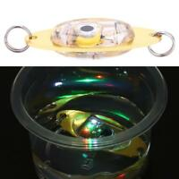LED Flashing Light Lure Lamp Deepwater Fish Attractor Shape Fishing Crank Bait