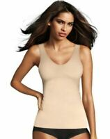 Maidenform Sleek Smoothers 2-Way Tank Top - Shapewear - 3 COLORS - S-3XL