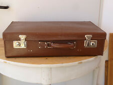 V4545 Alter Reisekoffer um 1940 ~ sehr dekorativ ~ Vintage ~ Koffer