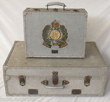 WW2 Royal Australian Engineers RAE Army Soldiers Metal Cases BCOF Japan ANZAC