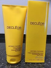 Decleor Aroma Cleanse exfoliating fresh skin body cream 200ml