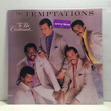 The Temptations - To Be Continued - SEALED LP - Gordy Original - 1986