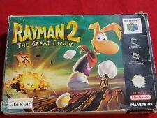 RAYMAN 2 NINTENDO 64 N64
