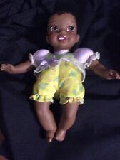"""Disney Tolly Tots Princess Tiana Baby Doll 11"""" EUC Black Princess and the Frog"""