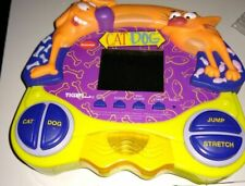 CatDog Tiger Electronics Handheld LCD Game RARE! WORKS WITH BATTERY COVER
