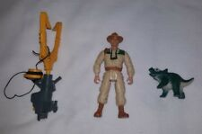 Jurassic Park Eddie Carr Action Figure, Capture Claw and Hatchling (Kenner 1997)