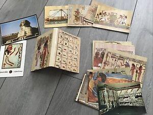 Lot Of Postcards inc The Hieroglyphic Alphabet [ All Egypt Interest ]