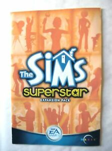 55000 Instruction Booklet - The Sims Superstar - PC (2003)