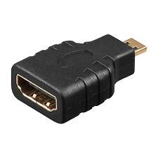 micro HDMI Adapter HDMI Kabel Adapter Stecker HDMI Buchse auf micro HDMI Stecker