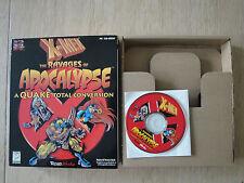 X-Men Der Zahn der Apokalypse Big Box PC CD-ROM Marvel Quake Umbau