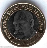 5 Euros Finlandia 2016 P.E. Svinhufvud  @@ Nº 45 @@