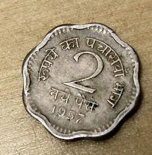 1957 India 2 Paise