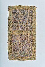 MUSEUM ANTIQUE 16th C. SAFAVID GOLD TEXTILE SILK LAMPAS PANEL