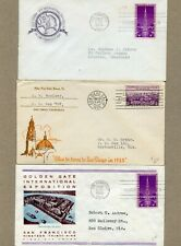 CALIFORNIA INTERNATIONAL EXPOSITIONS OF 1935 & 1939  (THREE COVERS TOTAL)