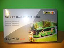 "FALLER 161496   Car System Bus MAN ""MeinFernbus"", grün   in   H0"