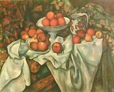 PAUL CEZANNE- POMMES ET ORANGES- ART ON CANVAS -UNSTRETCHED- SPECIAL OFFER!
