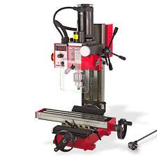 Bohr - Fräsmaschine Bohrmaschine schwenkbar -45° - 45° 230V 0-2300 U/min 2 Gänge