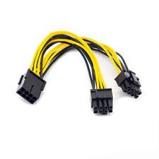PCI Express 8-pin to Dual 8-pin (6+2 pin) GPU Video Card Power Adapter Cable