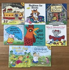 Lot 8 LIFT-THE-FLAP Stories The Haunted School Noah and the Rabbits Bedtime