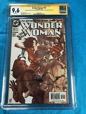 Wonder Woman #183 - DC - CGC SS 9.6 - Signed by Adam Hughes, Ordway, W Simonson
