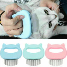 Pet Cat Dog Cleaning Brush Massage Shell Comb Grooming Hair Removal Shedding