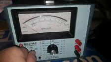 Millivac Instruments Electronic Rf Milivoltmeter Mv-912A