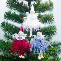 Christmas Tree Fairy Angel Decoration Treetop Pendants Ornaments Decorations