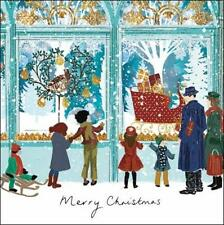 Pack of 5 Shop Window Alzheimer's Society Charity Christmas Cards Card Packs