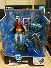 McFarlane DC Multiverse Robin Crow Earth 22 Scream Dark Nights Metal Merciless