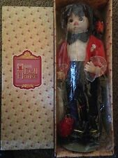 Schmid Doll House Musical Conductor - Clown w/ music box Patty Klawans-180 /750