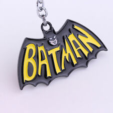 BATMAN 60s style Raised Detail Classic DC Comics Full Metal Keychain cosplay