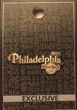 Hard Rock Cafe Philadelphia Pin Core Destination Name Series 2017 New LE # 95249