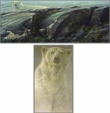 Robert Bateman ARCTIC LANDSCAPE (PREMIER), Polar Bear, ARTIST PROOF A/P#34/36