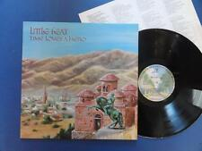 LITTLE FEAT  TIME LOVES A HERO Warner Bros 77 A1B1 UK LP EX+/EX