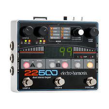 Electro Harmonix 22500 Dual Stereo Looper, New!