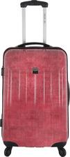 FRANCE BAG Valise rigide 60 cm pour  moyen séjour – Polycarbonate – Rouge Jeans