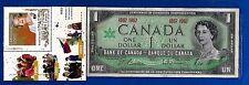 1867 1967 CANADA Canadian CENTENNIAL one 1 DOLLAR BILL NOTE crisp UNC D