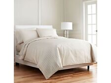 1000 Thread Count 100% Egyptian Cotton 1000TC Bed Sheet Set TWIN XL Ivory Stripe