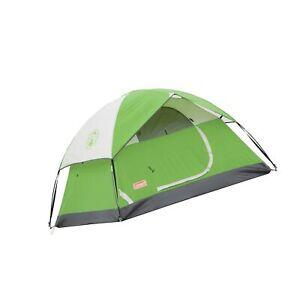 Coleman Sundome Tent 4 Person Green