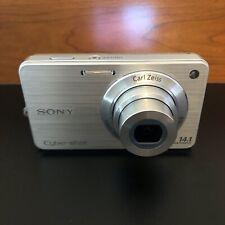 Sony Cyber-shot DSC-W560 14.1MP Digital Camera - Silver