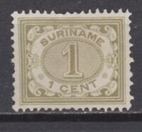 Suriname nr 42 MLH ongebruikt Cijfer 1902