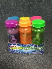 Maxx Bubbles! Bubble Solution Sunny Days 6 Pack 4 FL OZ 51D
